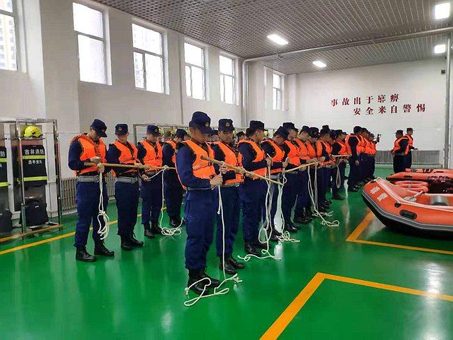 """吉林省森林消防总队全面铺排事务应对台风""""利奇马"""""""