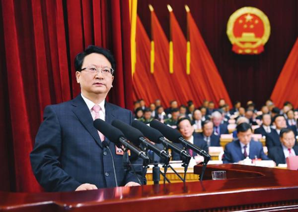 吉林省第十三届人民代表大会第三次会议在长春开幕