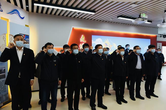 珲春市廉政教育中心廉政警示教育基地正式开馆